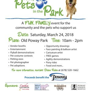 PETS IN THE PARK @ Old Poway park